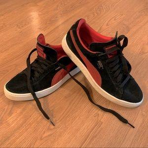 Vintage Puma Suede Shoes W9 M7 UK6 EUR39
